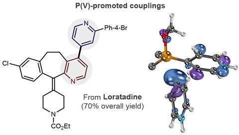 Phosphorus cross coupling