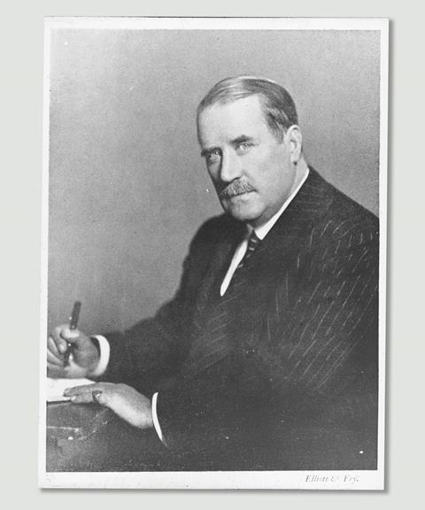 Early photographic portrait of chemist Jocelyn Thorpe