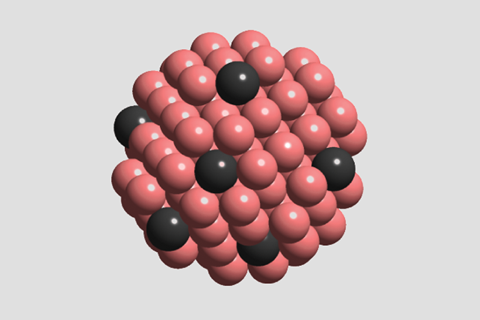 An image showing a Cu–Pd Single-Atom Alloy Catalyst