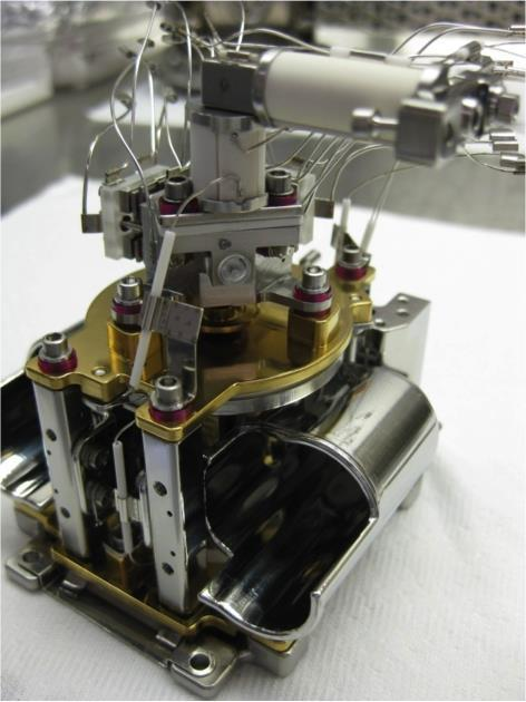 Engineering test unit of the Mars organic molecule analyzer mass spectrometer