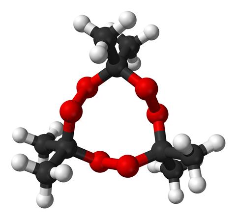 Acetone peroxide trimer
