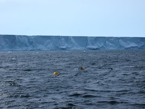mooring ice shelf credit Karen Assmann