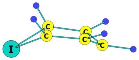 5-iodocyclopentadiene structure