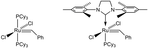 Grubbs ruthenium catalysts