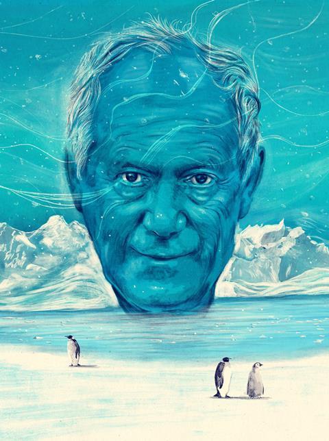 In Situ - Peter Atkins, portrait illustration