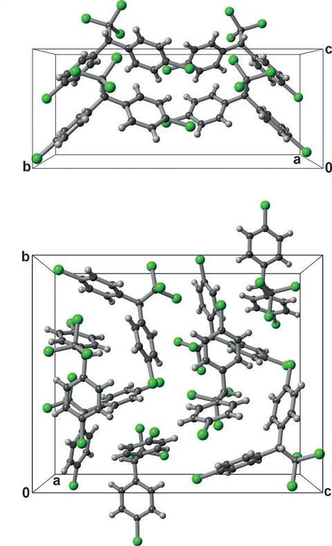 DDT crystal structures