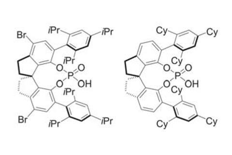 Structures of chiral phosphoric acids