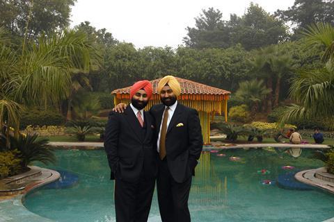 Shivender and Malvinder Singh