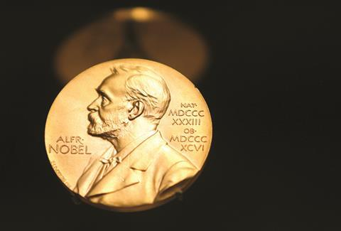 1017CW - The Crucible - Nobel prize medal