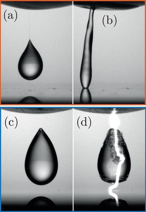 Bouncing leidenfrost droplets overcharge