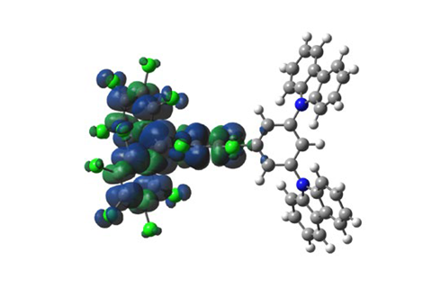 An image showing the structure of PTM-PDCz