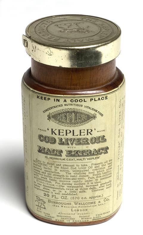 Kepler's Cod Liver Oil with Malt Extract