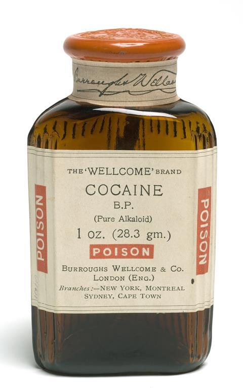 Wellcome brand cocaine