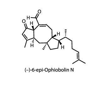 (–)-6-epi-ophiobolin N