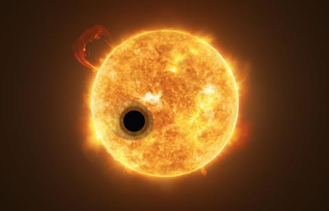 Exoplanet WASP-107b