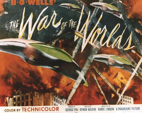 The War of the Worlds, movie poster, 1960