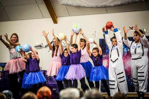 The Space Ballet workshop organised by the Lightyear Foundation