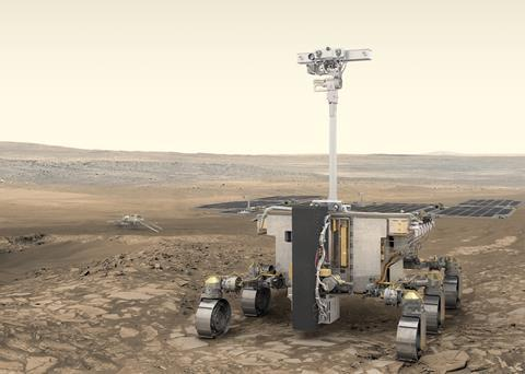 A picture of ExoMars rover