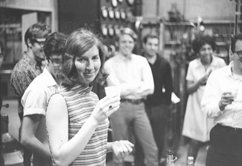 An image showing Sandra Greer at her PhD celebration in 1969