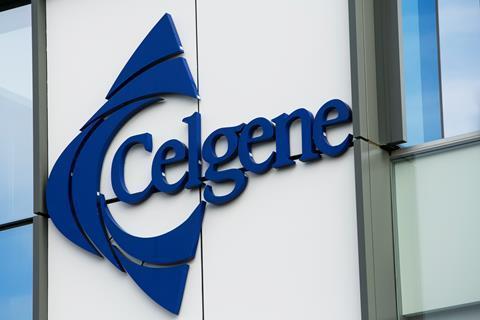 Celgene Corporation in San Diego, California, USA.