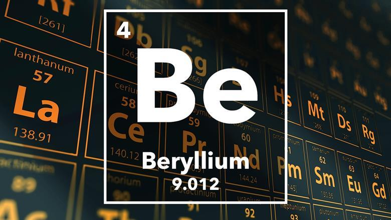 Beryllium podcast chemistry world periodic table of the elements 4 beryllium urtaz Choice Image