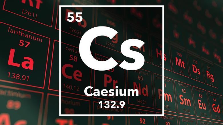 Caesium podcast chemistry world periodic table of the elements 55 caesium urtaz Gallery