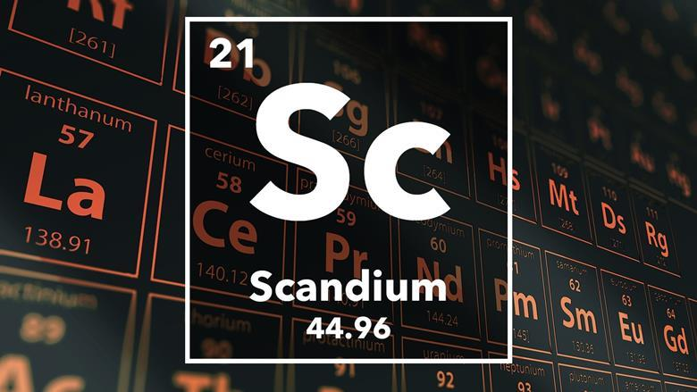 Scandium podcast chemistry world periodic table of the elements 21 scandium urtaz Image collections