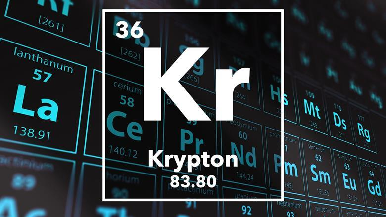 Krypton podcast chemistry world periodic table of the elements 36 krypton urtaz Image collections