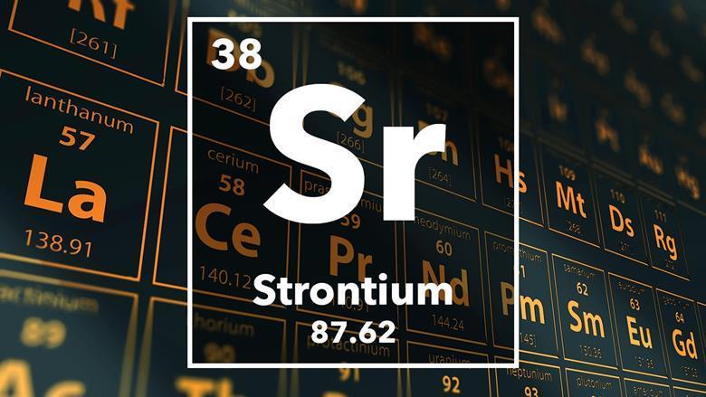 Strontium Podcast Chemistry World