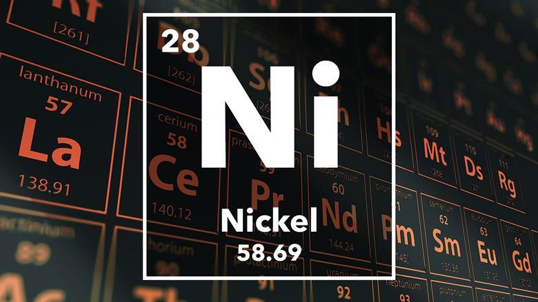 Nickel podcast chemistry world periodic table of the elements 28 nickel urtaz Gallery