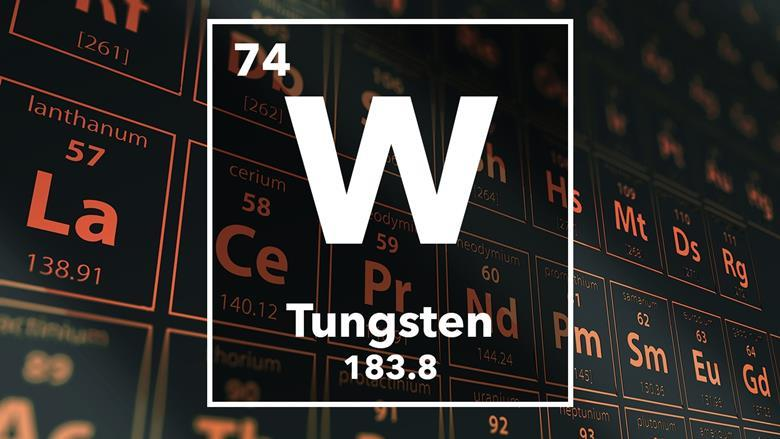 Tungsten podcast chemistry world periodic table of the elements 74 tungsten urtaz Image collections