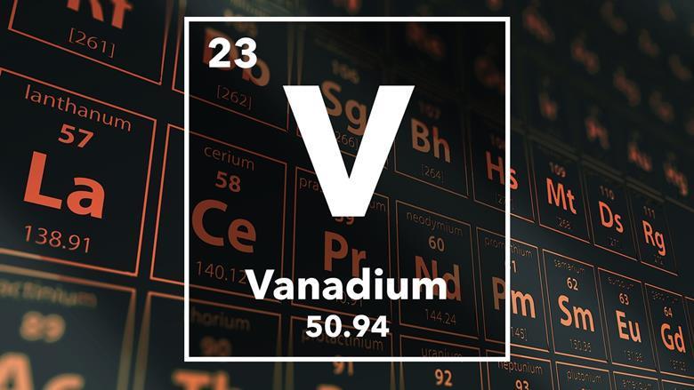 Vanadium podcast chemistry world periodic table of the elements 23 vanadium urtaz Choice Image