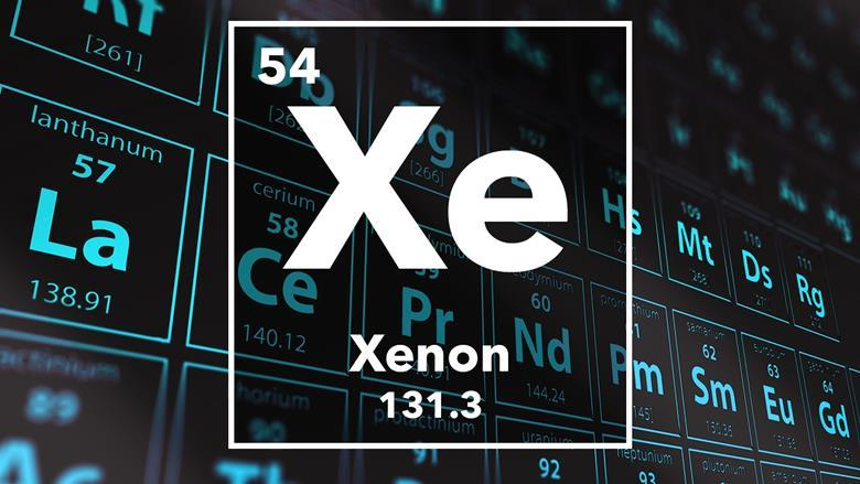 Xenon podcast chemistry world periodic table of the elements 54 xenon urtaz Image collections