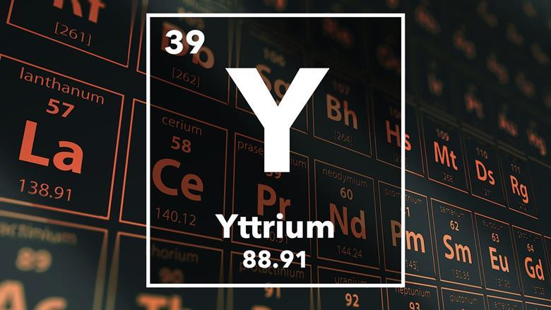 Yttrium podcast chemistry world periodic table of the elements 39 yttrium urtaz Images