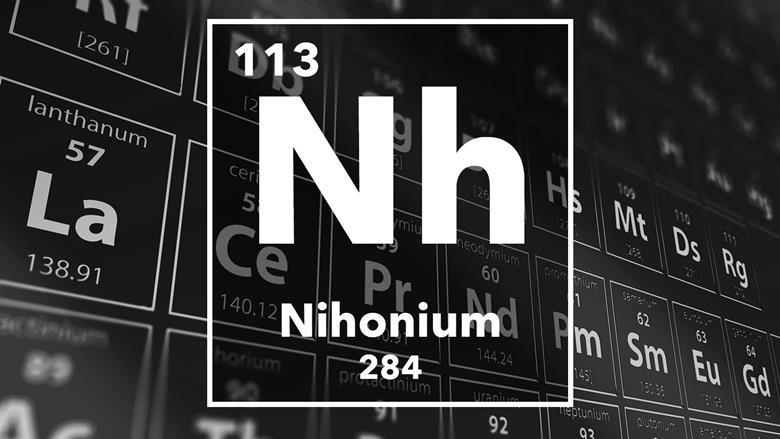 Nihonium podcast chemistry world periodic table of the elements 113 nihonium urtaz Choice Image