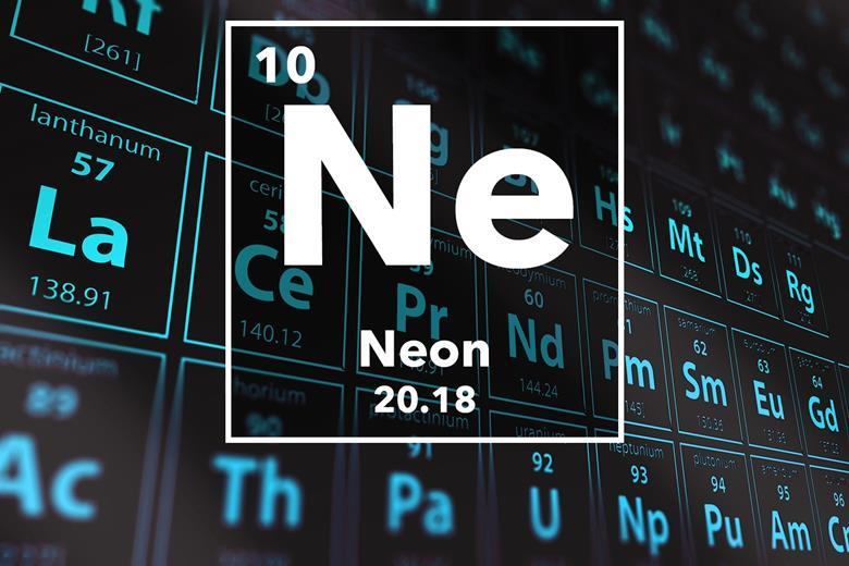 Neon Podcast Chemistry World