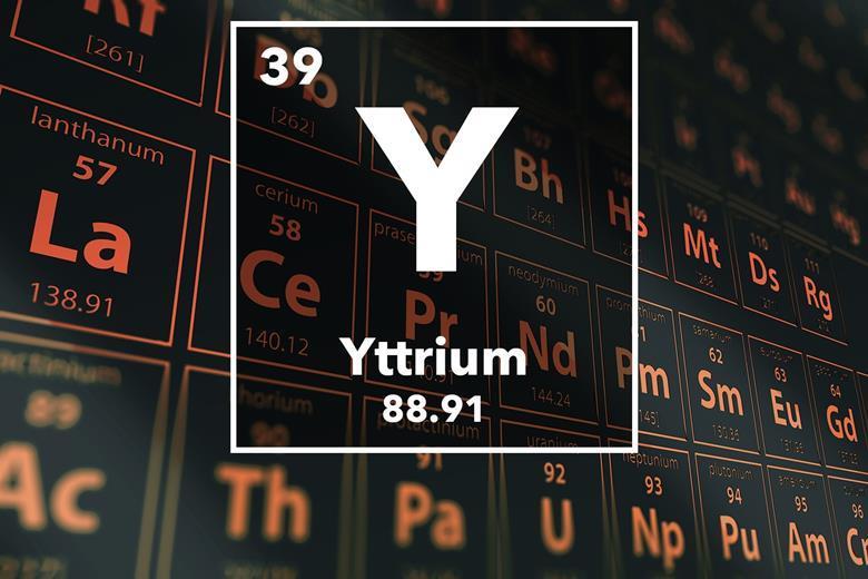 Yttrium podcast chemistry world periodic table of the elements 39 yttrium urtaz Choice Image