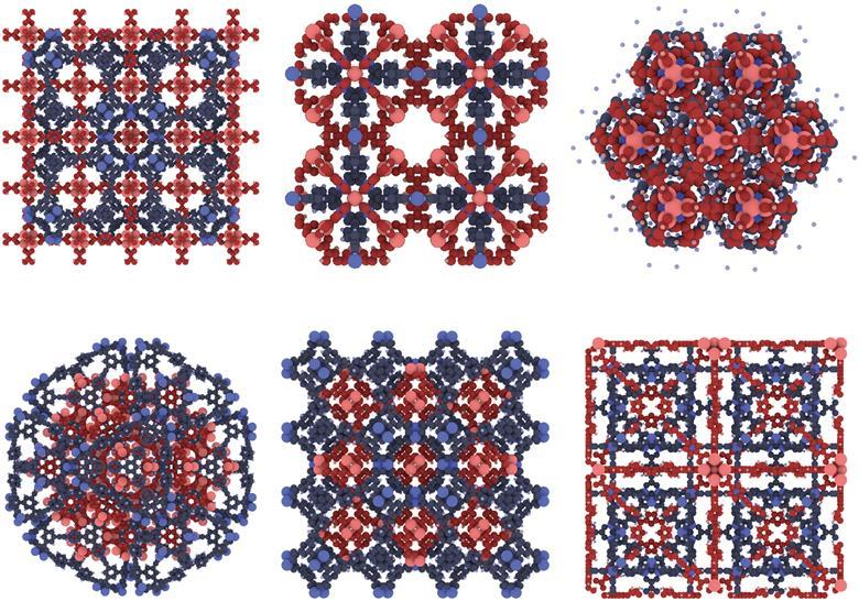 Hetero-Interpenetrated MOFs