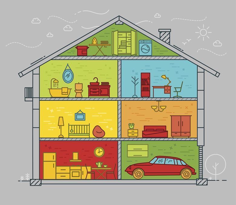 Domestic indoor air