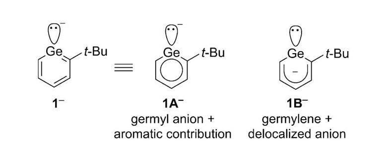 Germanium phenyl anion analogue