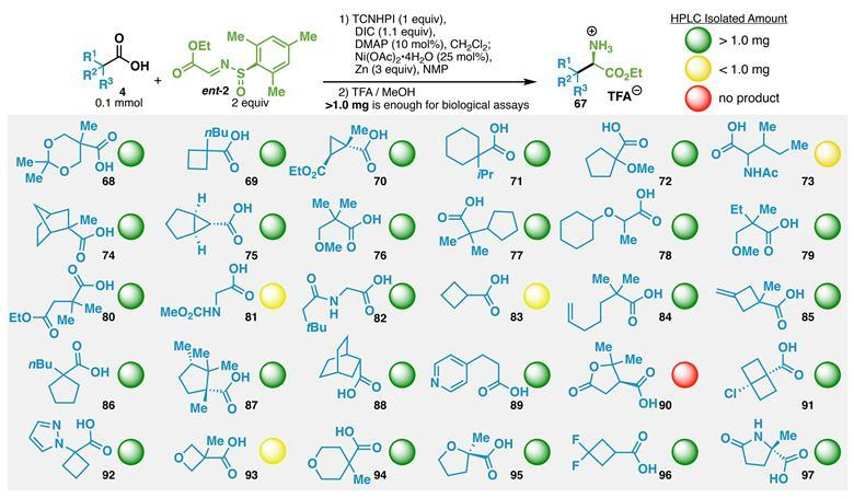 exotic amino acids made easy with radicals research chemistry world