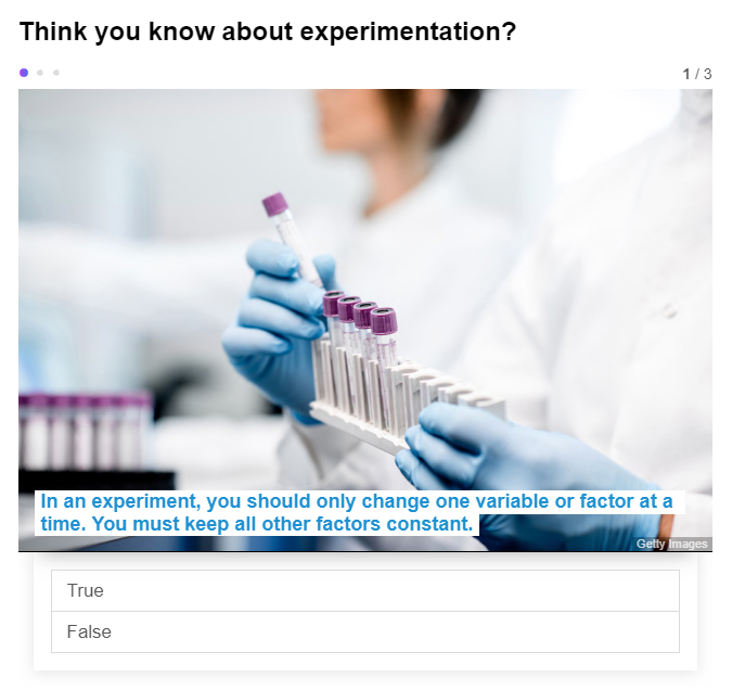 Design of experiments | Chemistry World